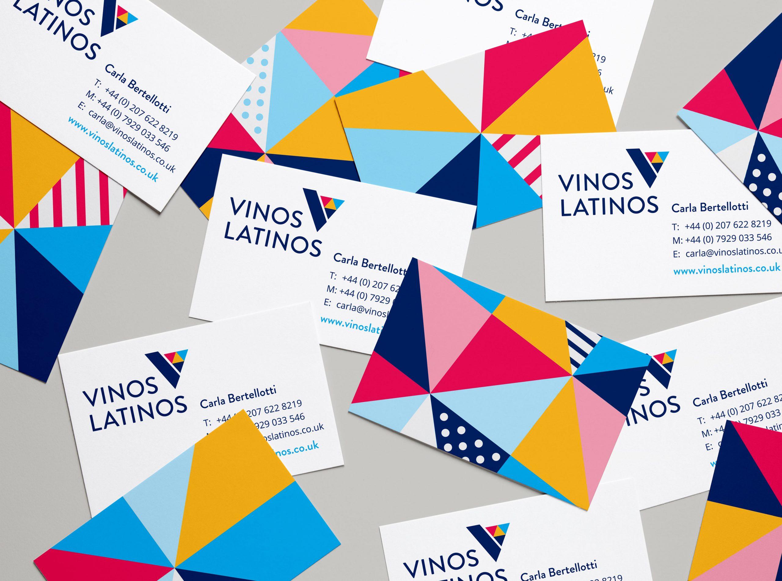 Vinos Latinos Business Cards