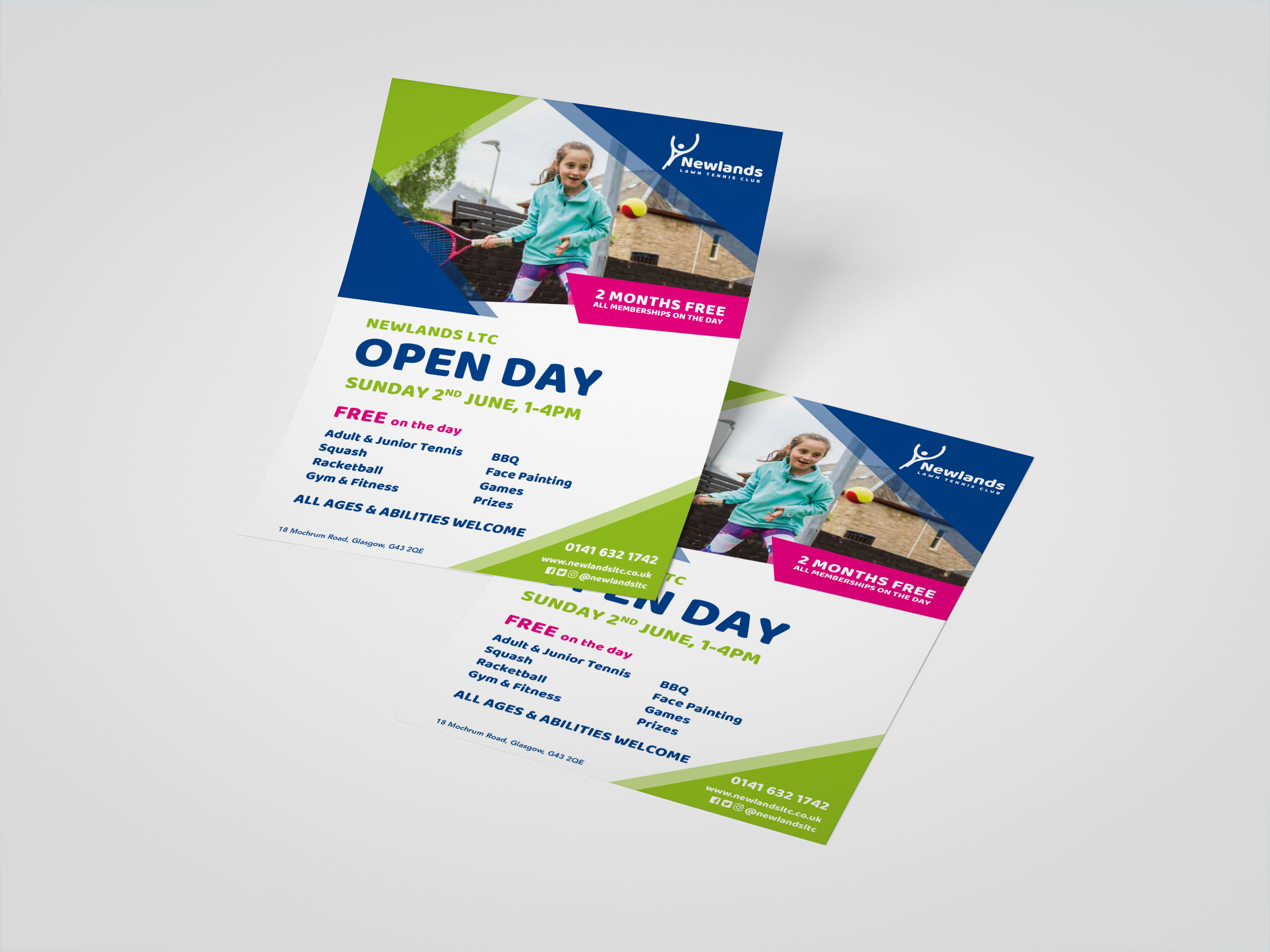 Newlands LTC Open Day Leaflet