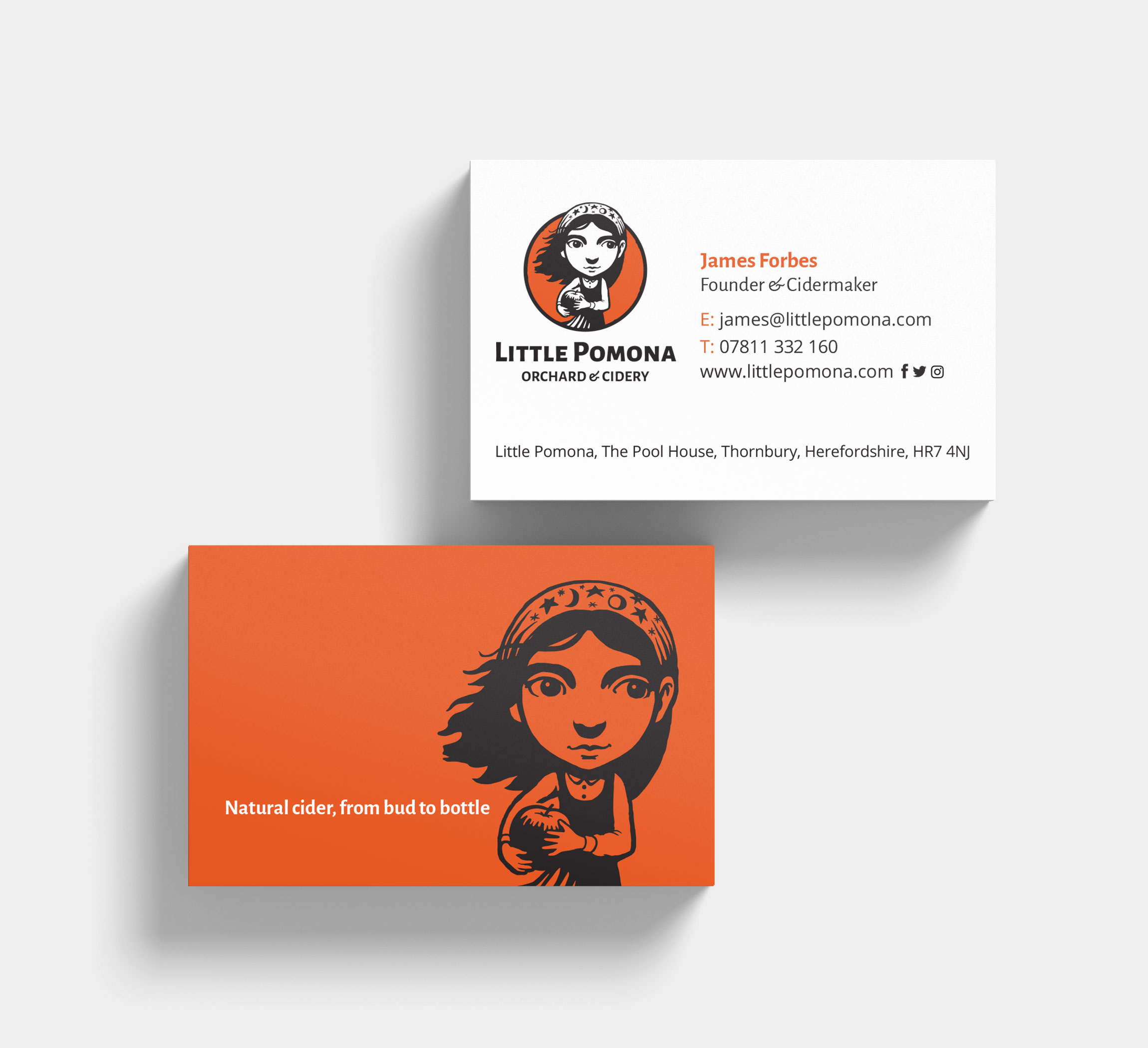 Little Pomona Business Cards