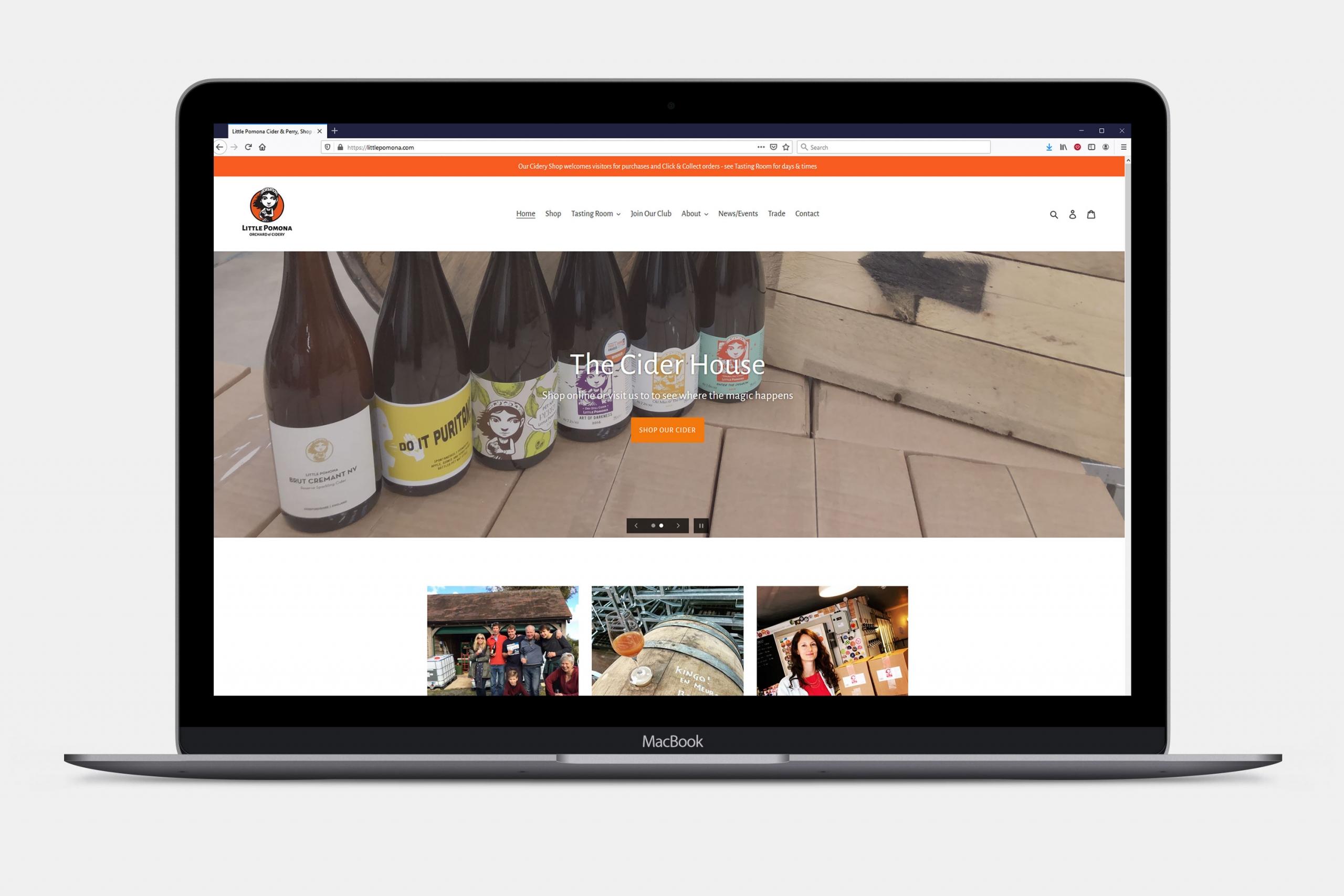 Little Pomona Ecommerce Website