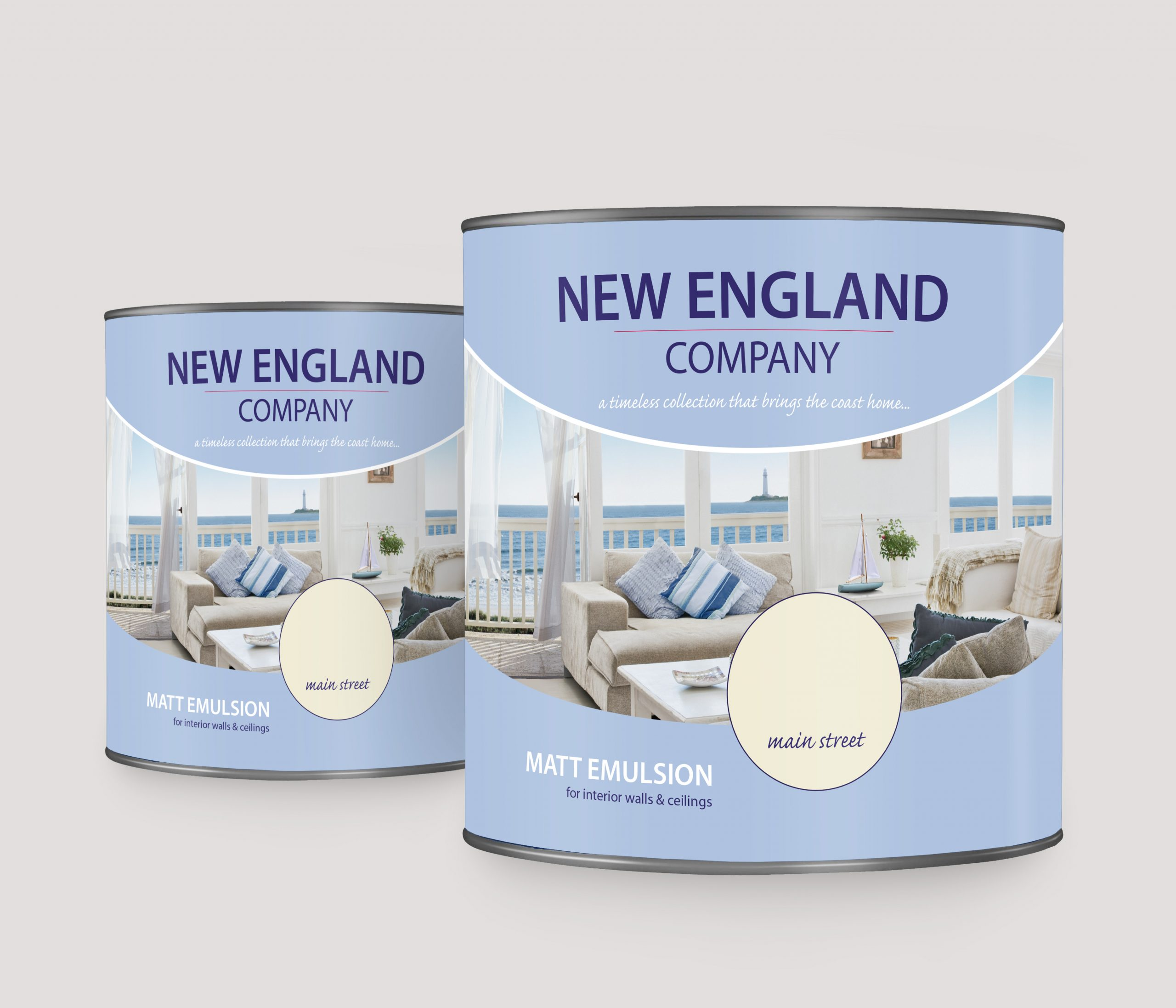 New England Paint Packaging