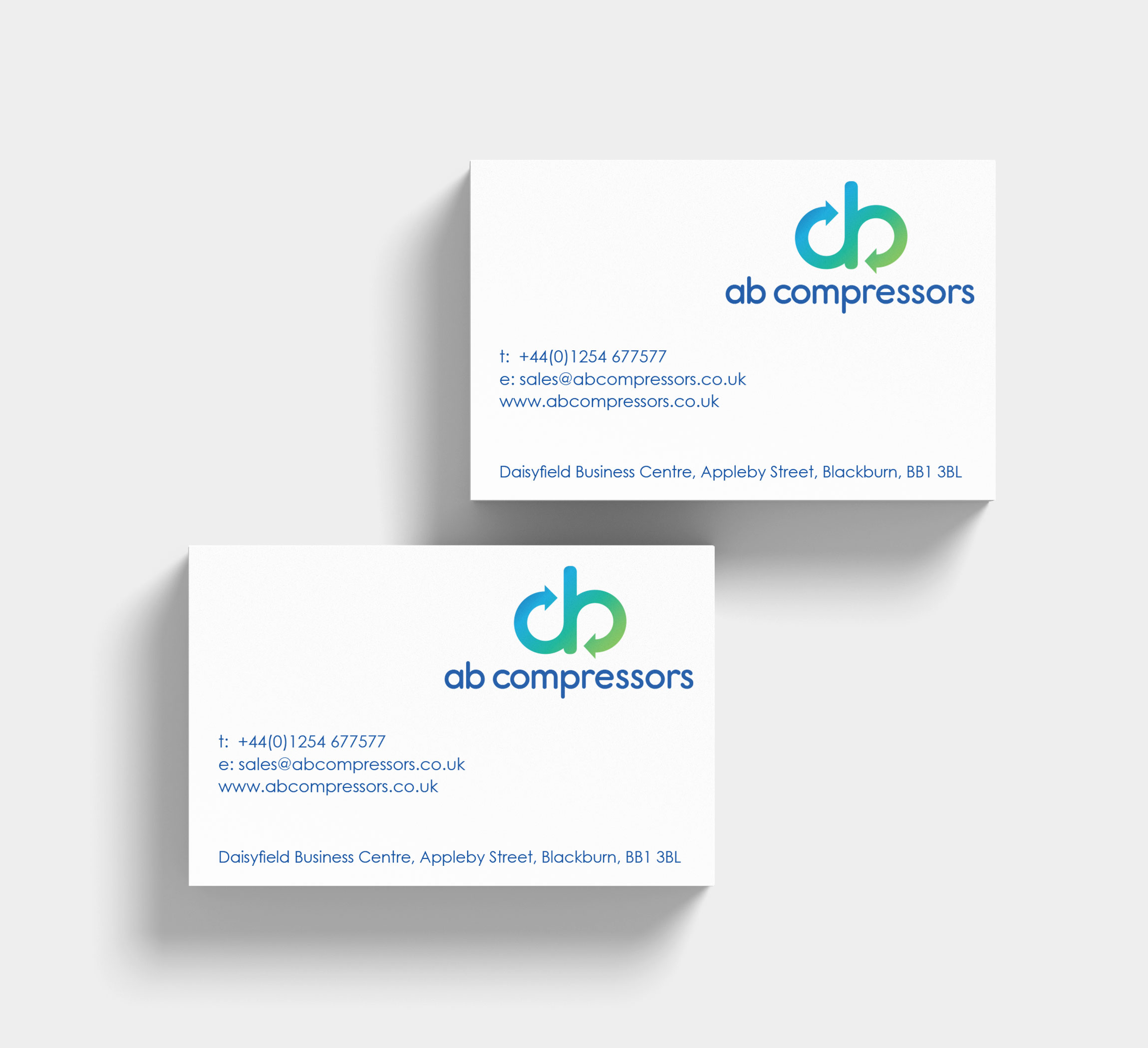 AB Compressors Business Card